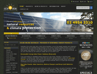 solaronline.com.au screenshot