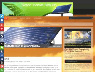 solarpanel-sleuth.com screenshot