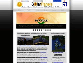 solarpanels.dk screenshot