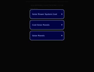 solarpanelsquotations.co.uk screenshot