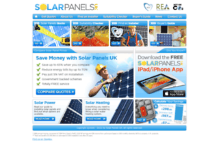 solarpanelsuk.co.uk screenshot