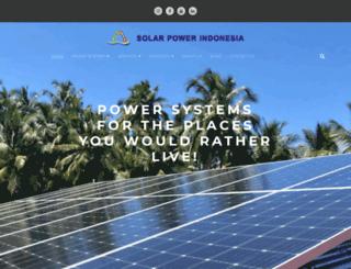 solarpowerindonesia.com screenshot