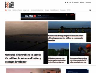 solarpowerportal.co.uk screenshot