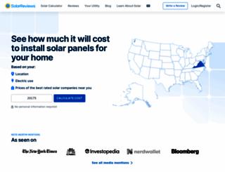 solarreviews.com screenshot