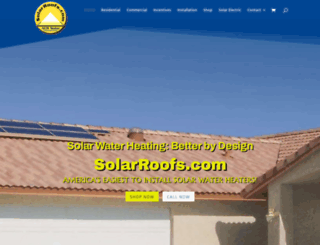 solarroofs.com screenshot