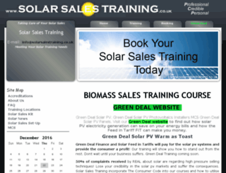 solarsalestraining.co.uk screenshot
