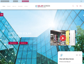 solarscreen.eu screenshot