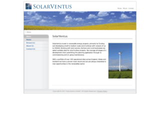 solarventus-energy.co.uk screenshot