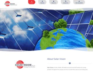 solarvision.co.za screenshot