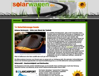 solarwagen.eu screenshot