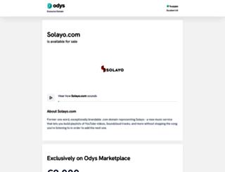 solayo.com screenshot