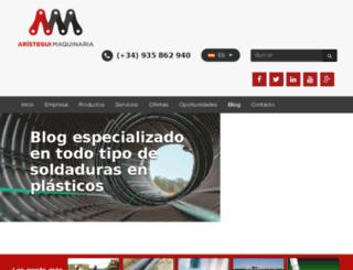 soldaduraplasticos.com screenshot