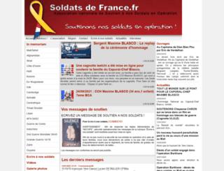 soldatsdefrance.fr screenshot