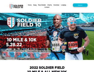 soldierfield10.com screenshot