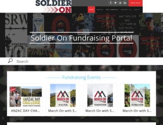 soldieron.giveeasy.org screenshot