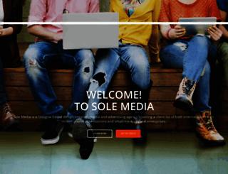 sole-media.co.uk screenshot