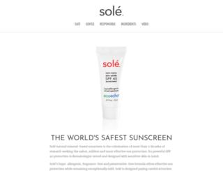 sole.com screenshot