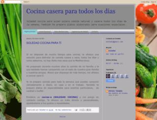 soledad-cocina.blogspot.com screenshot