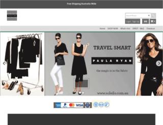 soleilo.com.au screenshot