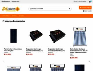 solenergy.cl screenshot