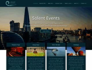 solentevents.co.uk screenshot