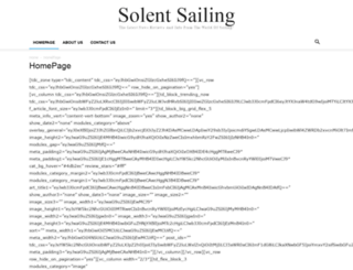solentsailing.org screenshot
