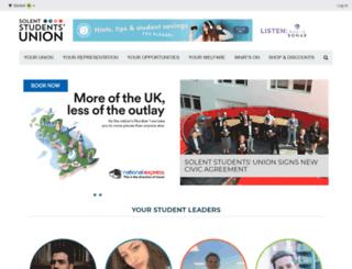solentsu.co.uk screenshot