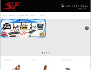 soletreadmills.sg screenshot