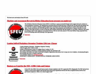 solfed.org.uk screenshot