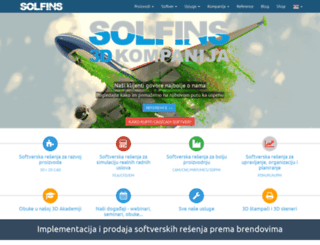 solfins.com screenshot