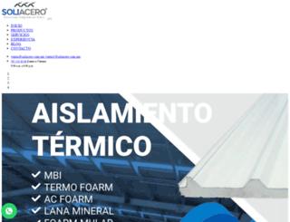 soliacero.com.mx screenshot
