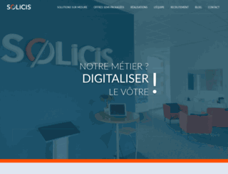 solicis.fr screenshot