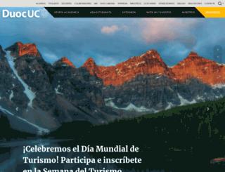 solicitudes.duoc.cl screenshot