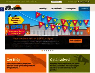 solid-ground.org screenshot