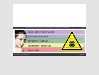 solid-state-lasers.com screenshot