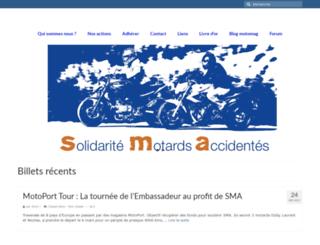 solidaritemotardsaccidentes.org screenshot
