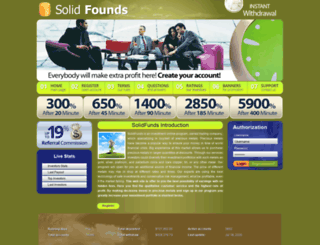 solidfunds.com screenshot