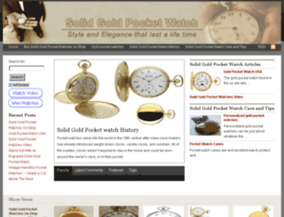solidgoldpocketwatch.com screenshot