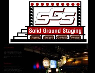 solidgroundstaging.com screenshot