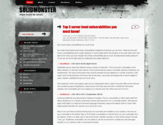 solidmonster.com screenshot