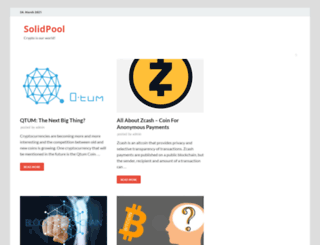 solidpool.org screenshot