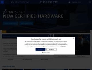 solidsolutions.co.uk screenshot