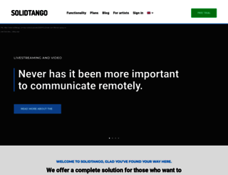 solidtango.com screenshot