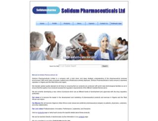 solidumpharma.com screenshot
