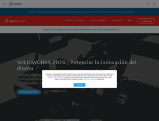 solidworks.es screenshot