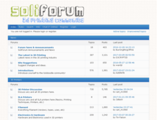 soliforum.com screenshot