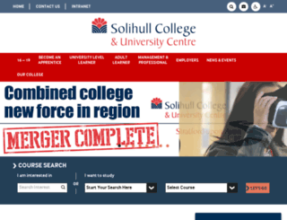 solihull.devclever.net screenshot