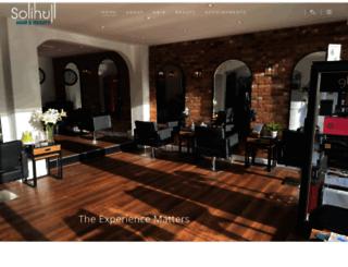 solihullhair.co.uk screenshot