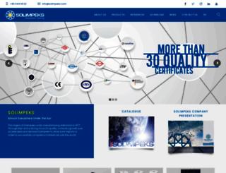 solimpeks.com screenshot