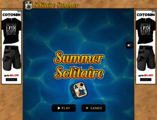 solitairesummer.com screenshot